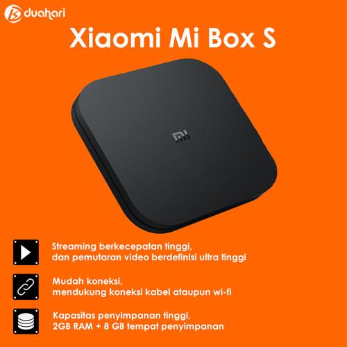 Foto Produk XIAOMI Mi BOX S 4K Ultra HD Android TV Box dari Dua Hari Jakarta