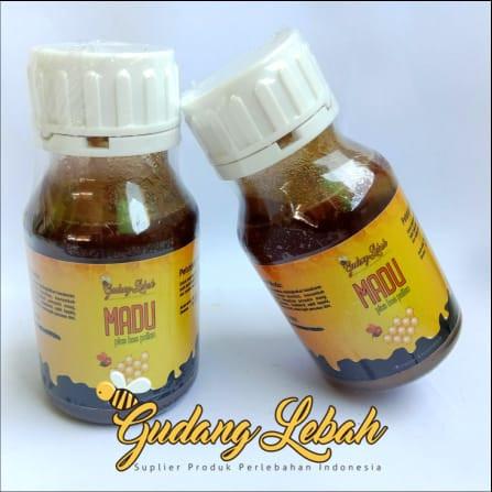 Foto Produk madu beepollen asli dari gudang lebah