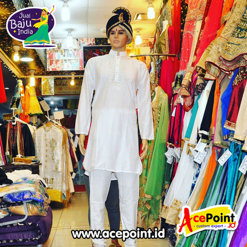 Foto Produk Baju India Cowok Laki Laki Pria Kurta Sherwani Baju Koko Pakistan 003 dari Olshops.Org