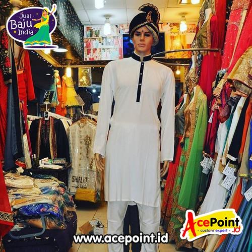 Foto Produk Baju India Cowok Laki Laki Pria Kurta Sherwani Baju Koko Pakistan 002 dari Olshops.Org