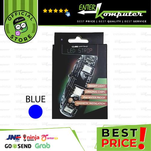 Foto Produk CUBE GAMING LED Strip Version 2.0 - Magnetic Instalation - 30cm - Blue dari Enter Komputer Official