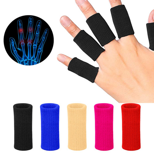 Foto Produk Elastic Finger Wrap Band Support Splint Guard Pelindung Jari Tangan dari Zooqy