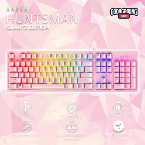 Foto Produk Razer Huntsman Quartz Edition - Opto Mechanical Keyboard dari GOODGAMINGM2M