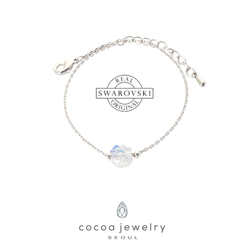 Foto Produk Korea Cocoa Jewelry Four Clover - Gelang Swarovski dari cocoa jewelry