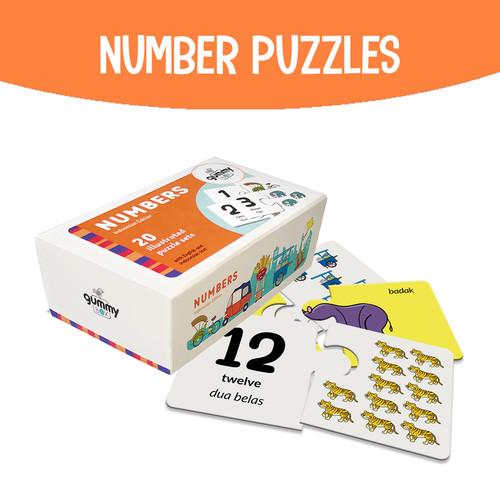 Foto Produk Number Puzzles   GummyBox dari GummyBox