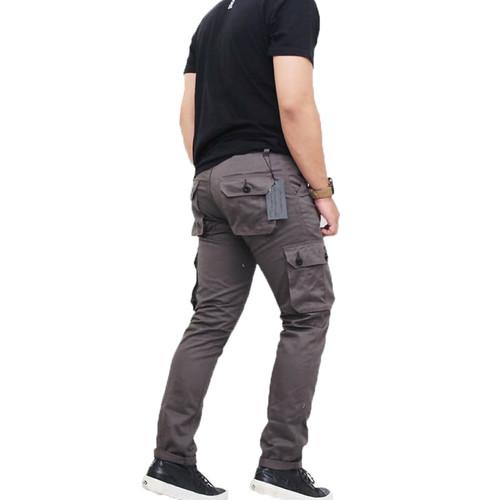 Foto Produk Celana Cargo Pria Celana Pdl Hiking Celana Kargo Grey - Abu-abu, S dari Baim Grosir