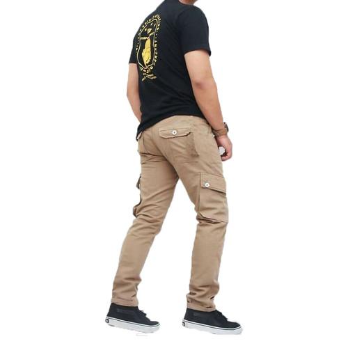 Foto Produk Celana Cargo Pria Celana Pdl Hiking Celana Kargo Mocca - Cokelat, S dari Baim Grosir