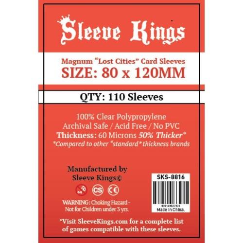 """Foto Produk Sleeve Kings Magnum """"Dixit"""" Card Sleeves (80x120mm) - 110 Pack dari Toko Board Game"""