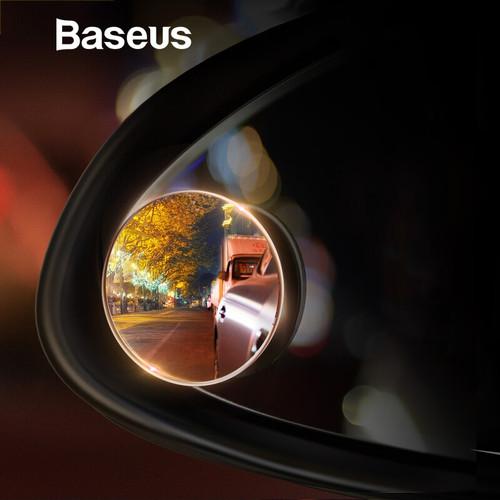 Foto Produk BASEUS Mirror Car Back Kaca Cembung Anti Blind Spot Spion Tambahan dari HimTech