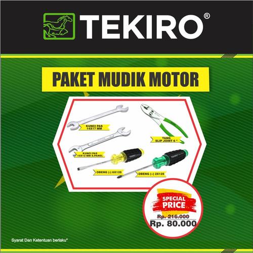 Foto Produk TEKIRO PAKET MUDIK MOTOR dari TEKIRO - REXCO Official