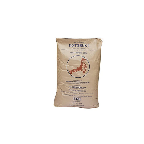 Foto Produk Tepung Kotobuki 500gr repack kualitas diatas KUNCI Biru Low Protein dari DBK Pasar Minggu
