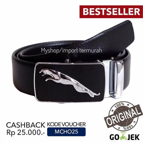 Foto Produk Gesper Sabuk Ikat Pinggang Rel Otomatis Kulit Pria Cowo Import C2 dari Toko Import Termurah
