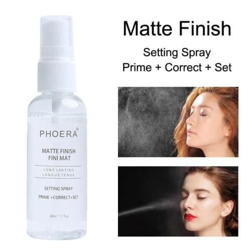 Foto Produk PHOERA MATTE FINISH SPRAY [PRIME+CORECT+SET] dari Orisini Shop