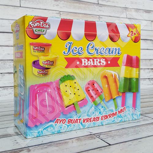 Foto Produk Fun Doh Ice Cream Bar - Lilin Mainan Anak FunDoh / PlayDoh / Play Doh dari Casa Unika
