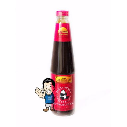 Foto Produk Lee Kum Kee Oyster Sauce Panda Brand- Saus Tiram 510gr dari IndoFresco