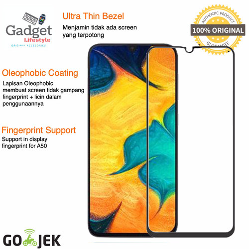 Foto Produk Premium Full Cover Tempered Glass Samsung Galaxy A30 / A50 2019 - A20s dari GadgetLifestyle Official