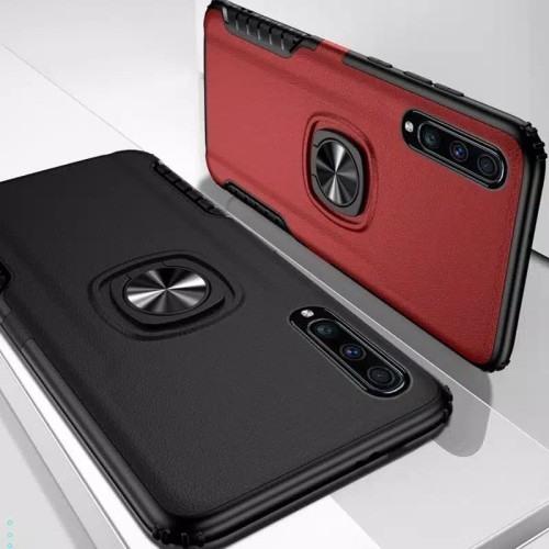 Foto Produk Casing Hardcase Hybrid Samsung A70 Hard Back Case - Hitam dari hanamigadget