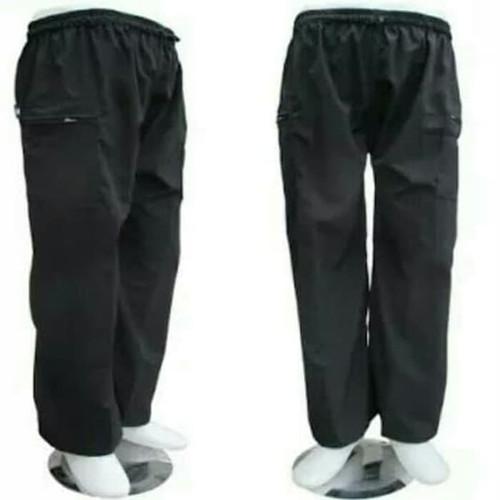 Foto Produk Celana pangsi - celana sirwal murah - celana komprang dewasa - Hitam dari konveksi army bandung