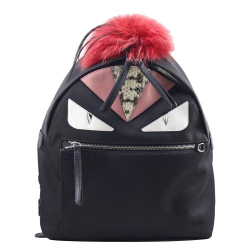 Foto Produk Fendi Monster Backpack in Black I8442 dari SECOND CHANCE