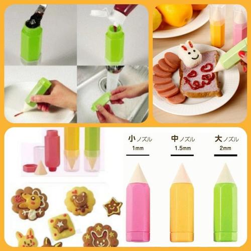 Foto Produk Food Drawing Pen Decorating For Bento Tools (isi 3) dari Grosirtoys