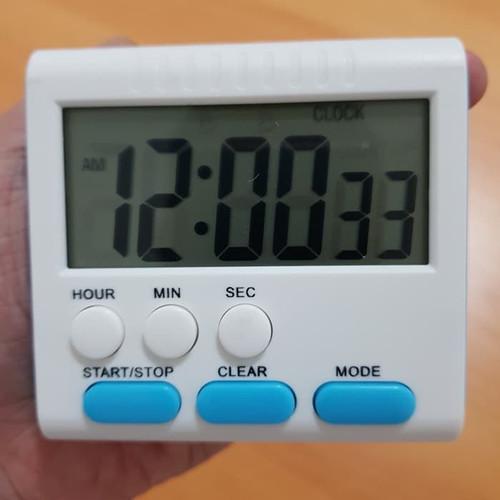 Foto Produk Digital Timer Alarm Masak Kopi Kue Coffee Dapur Jam Menit Detik dari medstore168