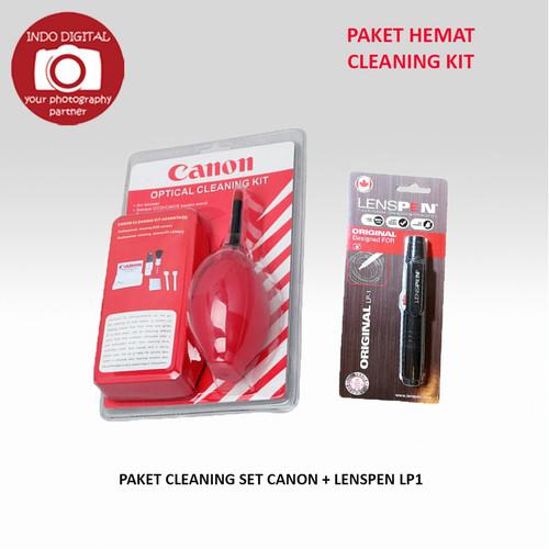Foto Produk PAKET CLEANING SET CANON + LENSPEN LP1 dari Indo Digital Nusantara
