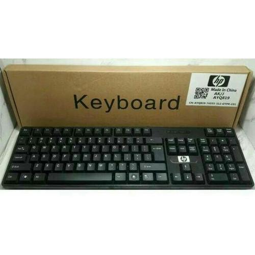 Foto Produk Keyboard HP/ Keybod USB HP/Keybod USB HP SK 6533/HP SK6533 - Hitam dari @accsesosiesstore