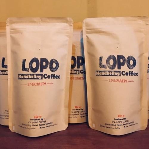 Foto Produk Kopi Mandailing Specialty 240 g dari LOPO Mandheling Coffee