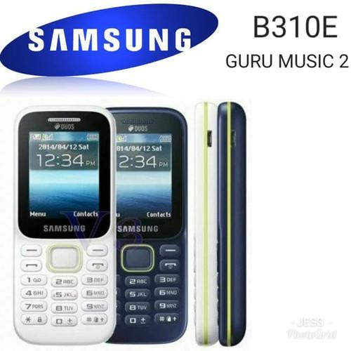 Foto Produk HP SAMSUNG Piton B310 Handphone SM-B310E Guru Music 2 Dual sim card dari BurningSun.id