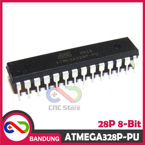 Foto Produk [CNC] ATMEGA328P-PU MCU AVR DIP-28 + BOOTLOADER ARDUINO UNO + STIKER dari CNC STORE BANDUNG