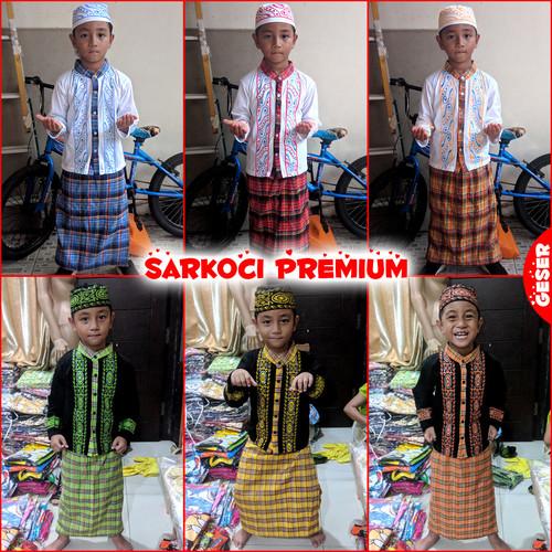 Foto Produk SARKOCI Premium Super Pakaian Muslim Sarung Koko Peci Anak Laki MARUNO - 2th dari Maruno Official