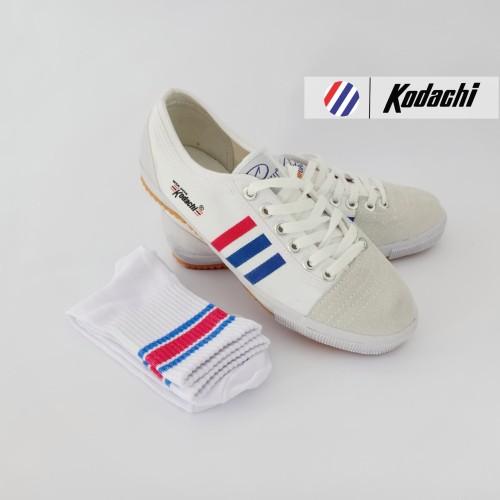 Foto Produk Sepatu Capung Kodachi 8111 + Kaos kaki Old Skool (Paket MZ4) - 36 dari sepatu kodachi