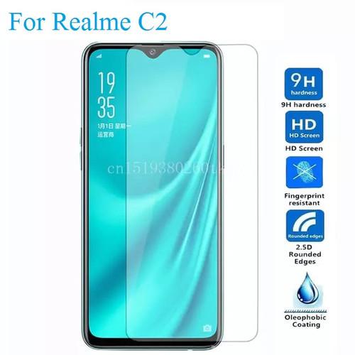 Foto Produk Oppo Realme C2 Tempered Glass 2.5D Anti Gores Kaca - Bening dari factory acc