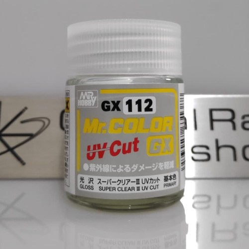 Foto Produk Mr. Color GX 112 Super Clear III UV Cut Gloss 18 ml dari Orbital Ray's Retail