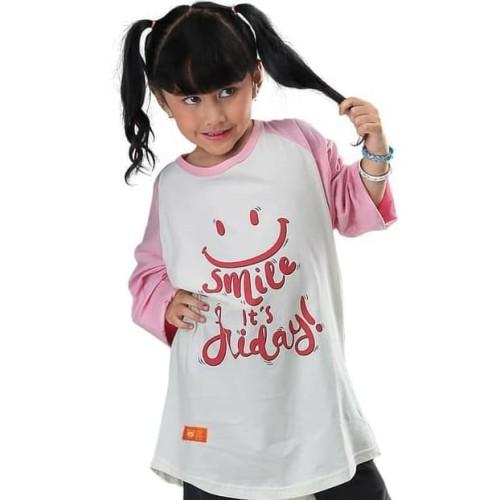 Foto Produk IK 6IKO42 T-Shirt Kaos Anak Perempuan Atasan Lengan Panjang Murah Ori dari PASGAYANA STALL