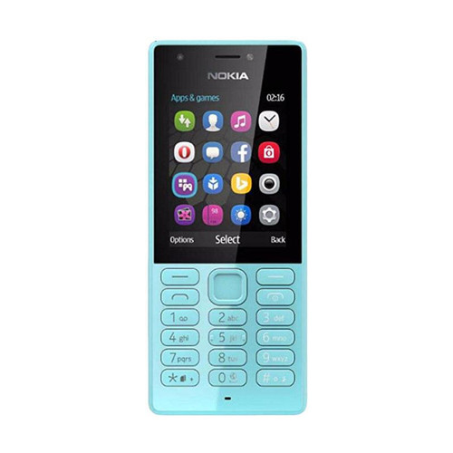 Foto Produk Nokia 216 Dual Sim - Blue dari SahabatHandphone