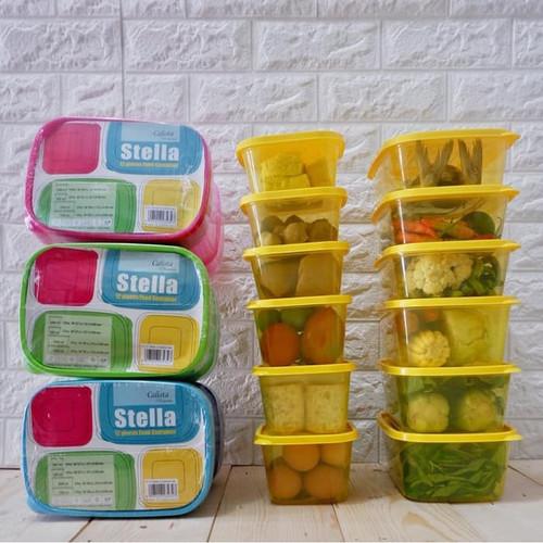 Foto Produk Calista STELLA 12 PCS Food Container - Produk Indonesia Berkualitas dari syams prestasi media