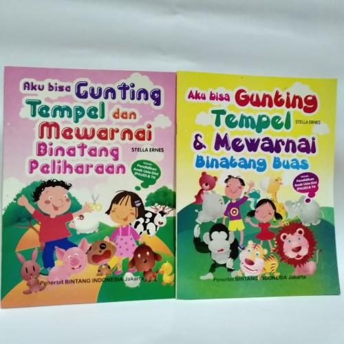 Foto Produk Buku Aktivitas Gunting Tempel & Mewarnai - Buah-Buahan dari Toko Buku dan Stationery