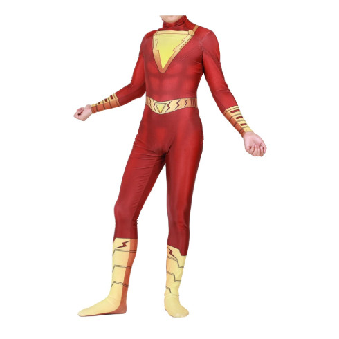 Foto Produk kostum shazam billy batson zentai costume superhero captain marvel dari Me & Mom - Jimbaran-Bali