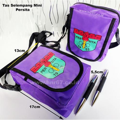 Foto Produk Merchandise Persita Tangerang Tas Selempang Mini Warna Ungu dari HNR67