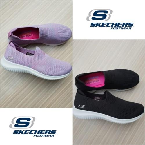 Foto Produk Sepatu Wanita Skechers Elite Flex Wasik Slip On / Skecher Women - Hitam, 37 dari VnS Shop