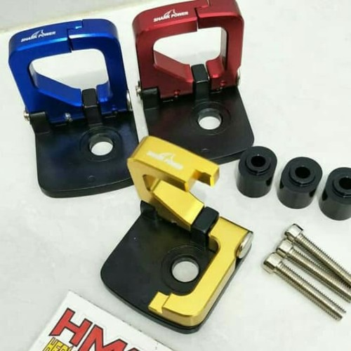 Foto Produk Gantungan Barang Motor Hook Lipat Cnc Nmax Vario Aerox Xmax Lexi Mio dari Panca Motor Variasi