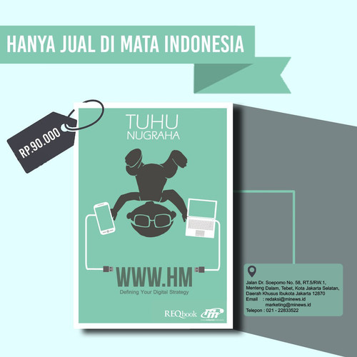 Foto Produk WWW.HM Defining Your Digital Strategy - Tuhu Nugraha dari minewsid