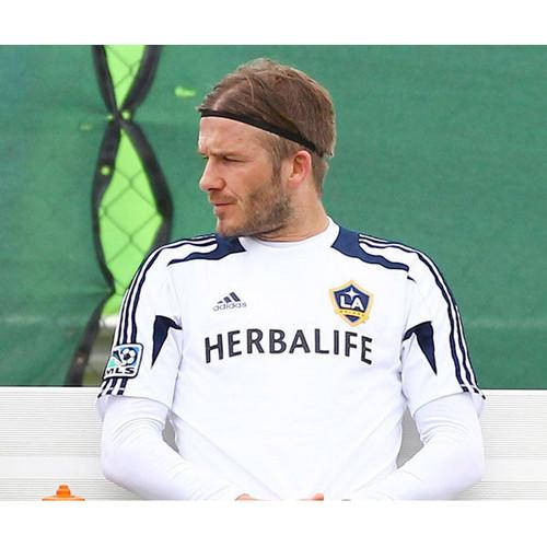 Foto Produk HIGH QUALITY Mini Headband Hairband Bandana Olahraga Sepak Bola Futsal - White dari All the Things I Need