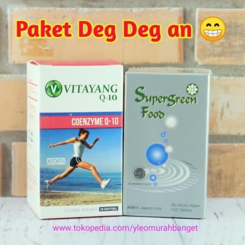 Foto Produk Suplemen Jantung Sehat Vitayang Coenzyme Q10 dari yleo_murah