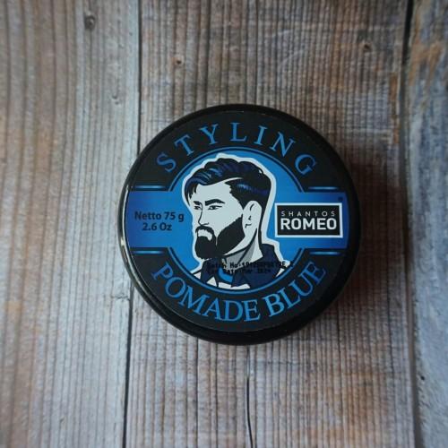 Foto Produk Shantos Romeo Coloring Blue Pomade dari OmiStore