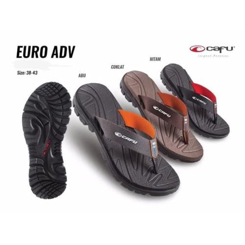 Foto Produk CAFU EURO ADV Sendal Sandal Jepit Casual Pria Cowok MEN Original dari artatikashop