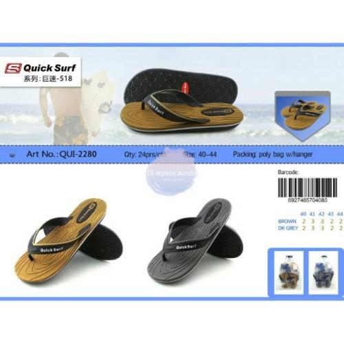 Foto Produk Sandal Jepit Pria QuickSurf Sendal Jepit Cowok Quick Surf 2280 dari artatikashop
