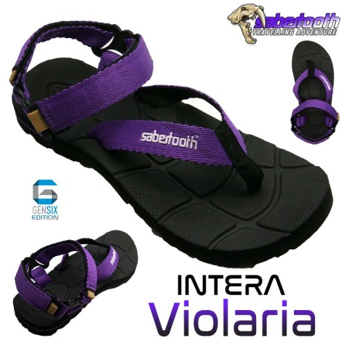 Foto Produk SABERTOOTH Sandal Gunung Traventure Intera Violaria Size 32 s d 47 Hit dari artatikashop