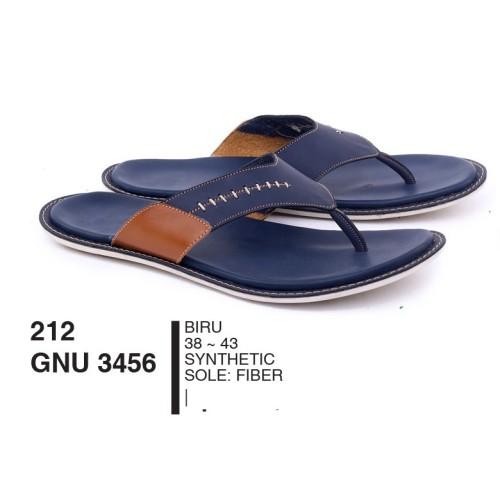 Foto Produk Sandal Pria Dewasa Jepit Synthetic Biru By Garsel Footwear - GNU 3456 dari artatikashop